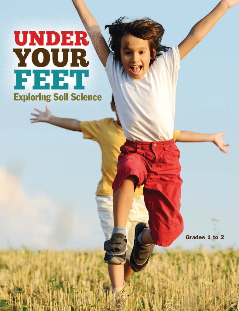 Cover Under Your Feet Reader - First Grade